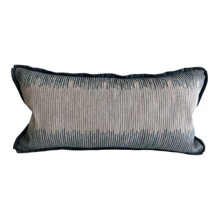 Ombre Strip Throw Pillow For Sale