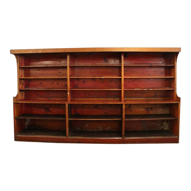 Antique American Department Store Shelves For Sale