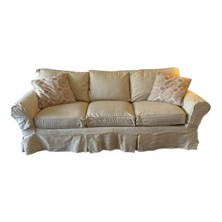 Crate & Barrel Feather & Down Sofa 88""