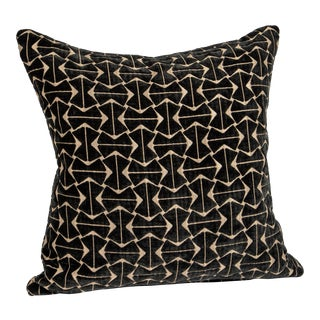 Pollack Machine Aged Velvet in Mink Pillows For Sale