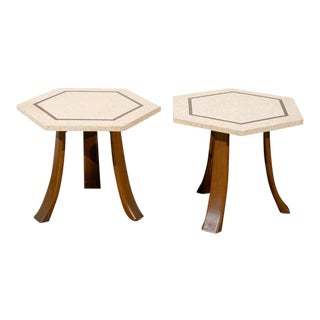 Stellar Pair of Harvey Probber End or Cocktail Tables For Sale