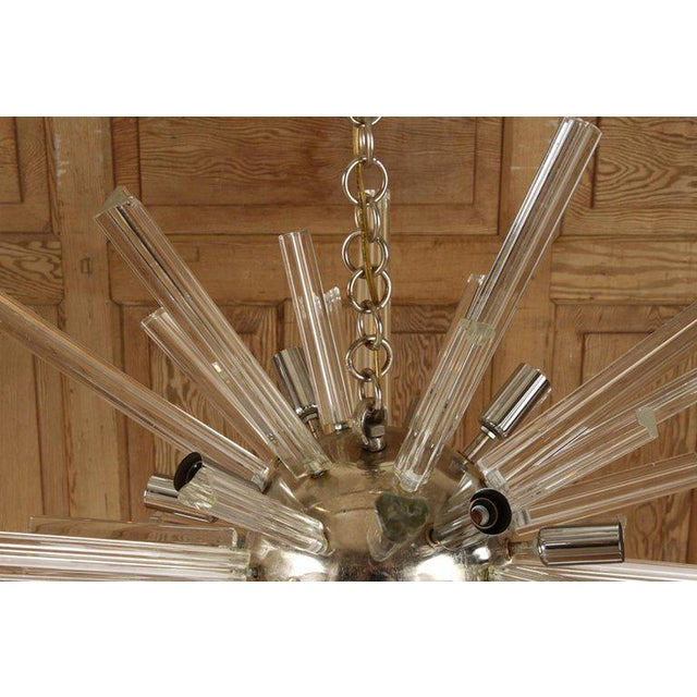 Italian 1960s Italian Murano Glass Sputnik Chandelier For Sale - Image 3 of 5