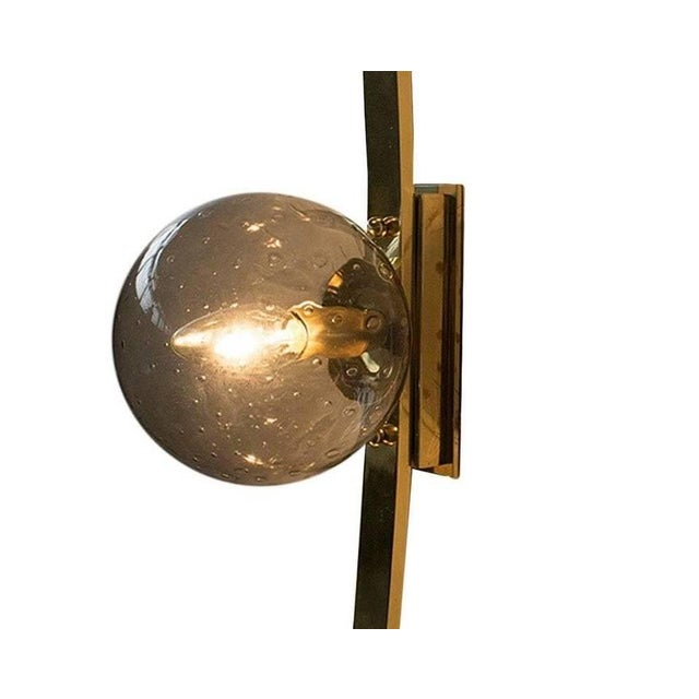 Gold Cresta Sconce by Fabio Ltd For Sale - Image 8 of 12