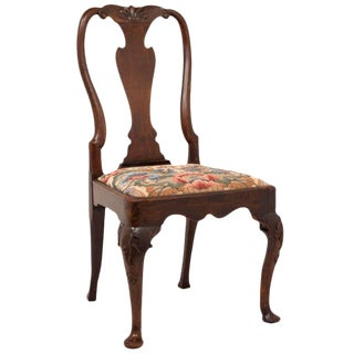 Mid 18th Century George I Walnut Chair For Sale
