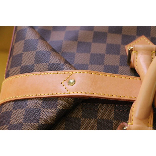 Special Edition Louis Vuitton Travel Bag, Damier Canvas For Sale - Image 9 of 12