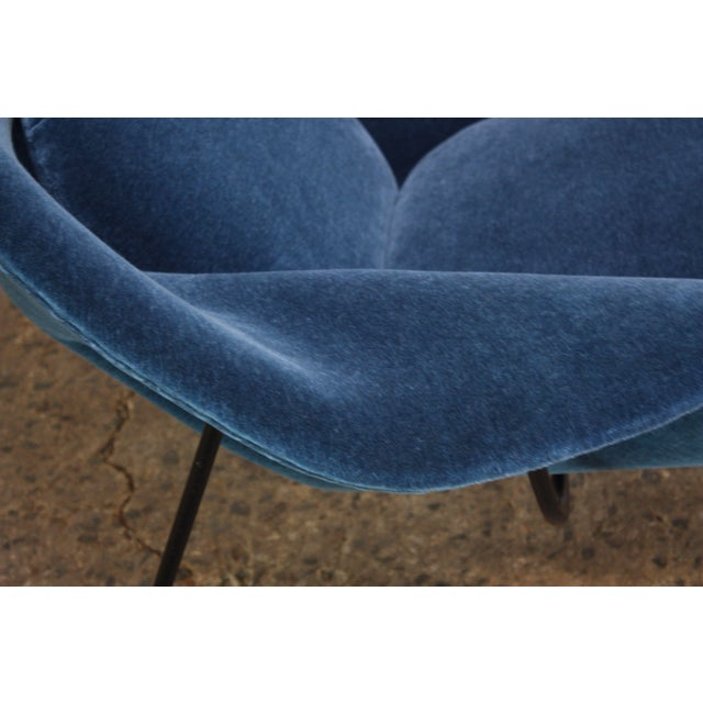 1950s Early Production Eero Saarinen for Knoll Womb Chair and Ottoman - a Pair For Sale - Image 11 of 13