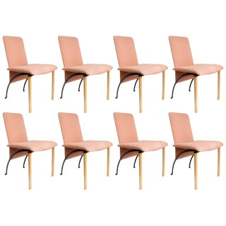 Set of 8 Dining Chairs by Castelijn For Sale