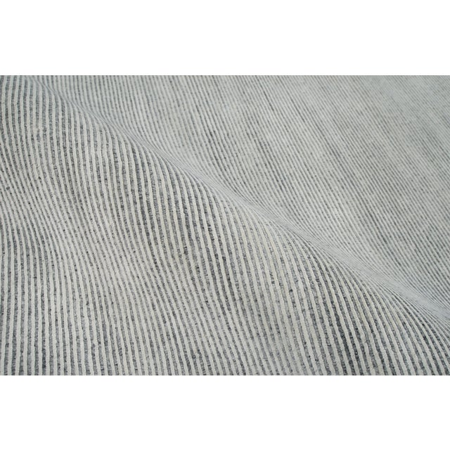 Contemporary Stark Studio Rugs Contemporary Oriental Bamboo Silk and Wool Rug - 8' X 10' For Sale - Image 3 of 5