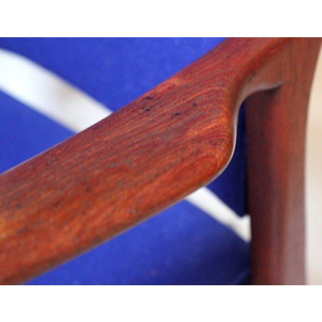 1960s Swedish Modern Teak Lounge Chair For Sale - Image 9 of 11