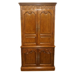 Heritage Avallon Collection Country French Media Armoire For Sale