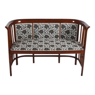 Bentwood Bench by Josef Hoffmann, 1900s For Sale