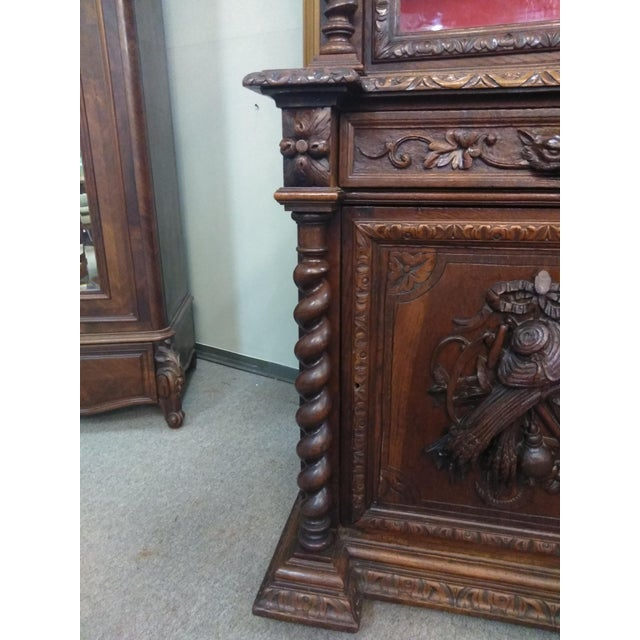 19th Century French Hunter's Cabinet/Bookcase For Sale - Image 12 of 13