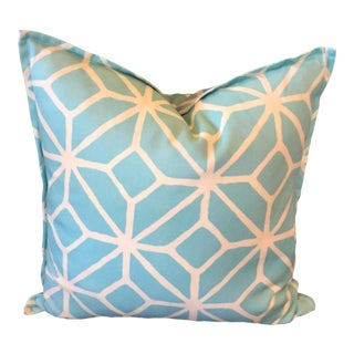 Ryan Studio Trellis Print Pool Pillow