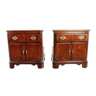 Chippendale Drexel Nightstands - a Pair For Sale