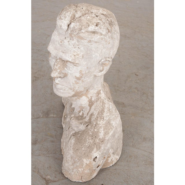 Early 20th Century English Plaster Bust For Sale In Baton Rouge - Image 6 of 9