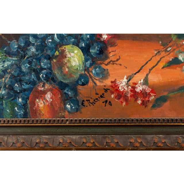 Realism Cesare Riccardi American Still Life Painting, 1970 For Sale - Image 3 of 4