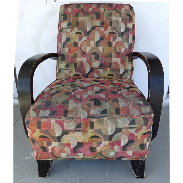 Mid-century Modern Donghia Style Lounge Chair - Image 3 of 8