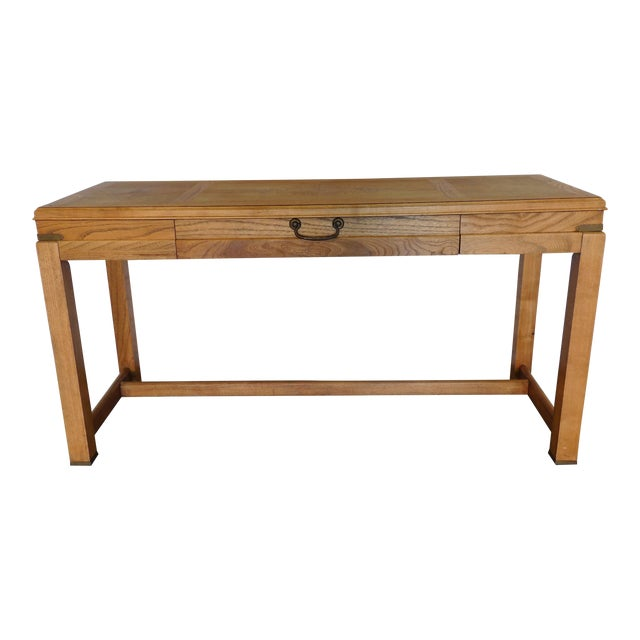 Mid-Century Campaign Desk by Altavista Lane - Image 1 of 11