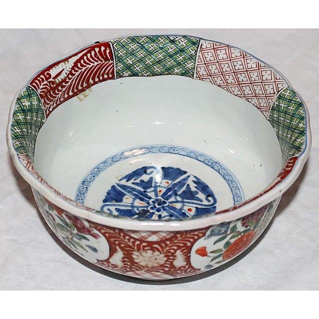 Asian Antique Japanese Imari Bowl For Sale - Image 3 of 6
