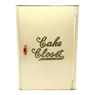 "Kreamer Tin ""Cake Closet"" Box For Sale"