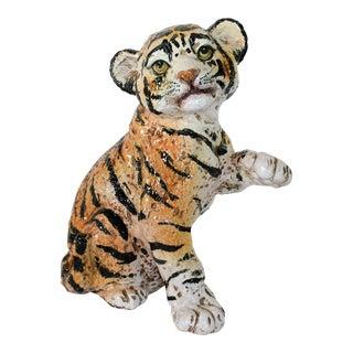 Italian Tiger Cub Figurine