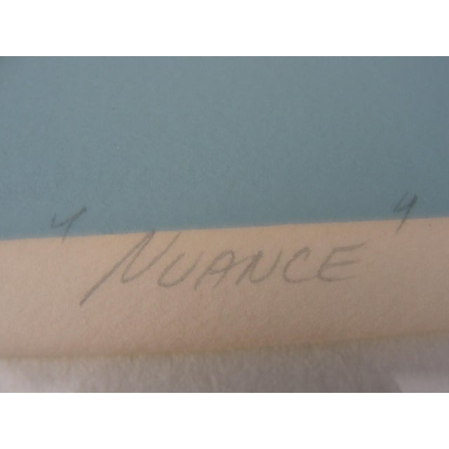 """""""Nuance"""" Lithograph by Michael James - Image 7 of 8"""