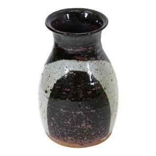 Helle Allpass Danish Modern Stoneware Vase For Sale