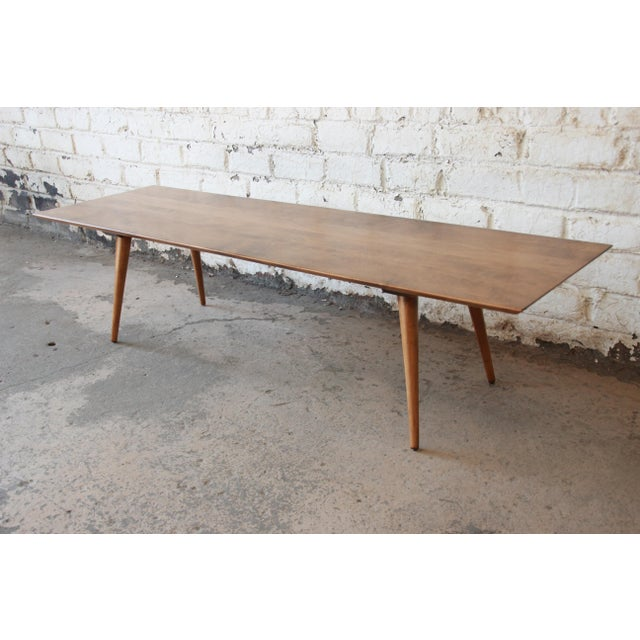 Wood Paul McCobb Planner Group Birch Coffee Table For Sale - Image 7 of 11