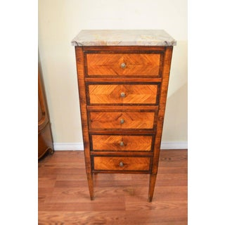 Louis XVI Style Inlay Wood Lingerie Chests - A Pair Preview