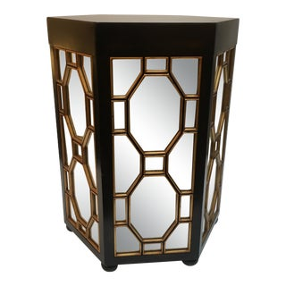 Grand Tour Mirror Side Table For Sale