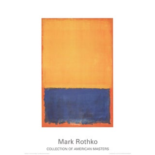 Mark Rothko, Yellow, Blue, Orange (1955), Offset Lithograph For Sale