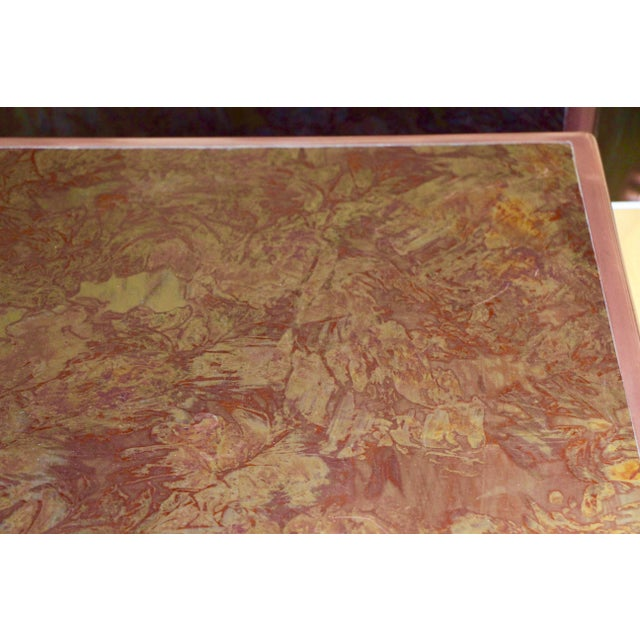 Patinated Copper Sheet Clad Nightstands or Chests - a Pair For Sale - Image 12 of 13