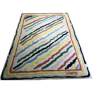 Artist Edition Rug, Edward Fields Style For Sale