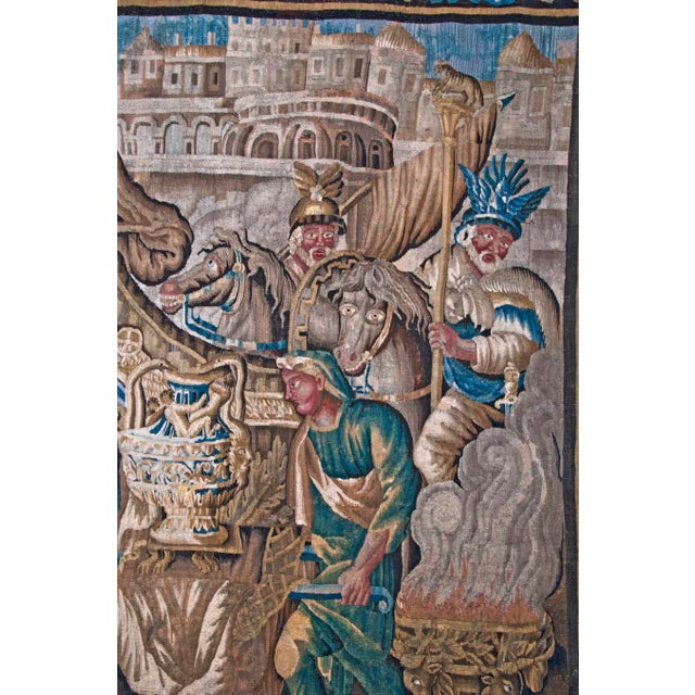 Flemish Tapestry of Caesar returning to Rome For Sale - Image 4 of 9