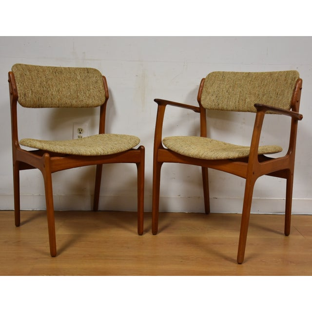 Erik Buck Teak Dining Chairs - Set of 6 - Image 6 of 11