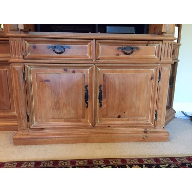 Brown Thomasville Santiago Entertainment Center / Armoire For Sale - Image 8 of 11