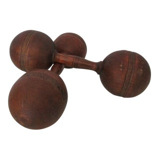 Wooden 1 Pound Dumbbells For Sale