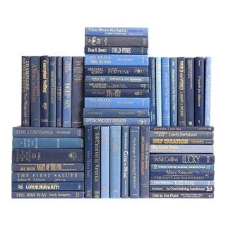 Retro Blue Book Wall, S/50