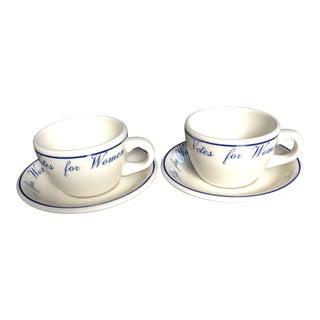 "Modern ""Votes for Women"" Tea Set- 4 Pieces For Sale"