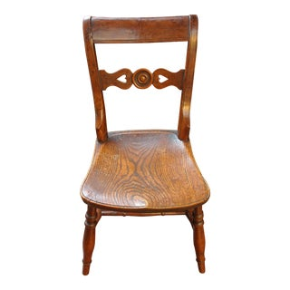 Country English Side Chair For Sale