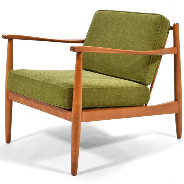 Birch Alf Svensson Lounge Chair by Dux For Sale - Image 7 of 7