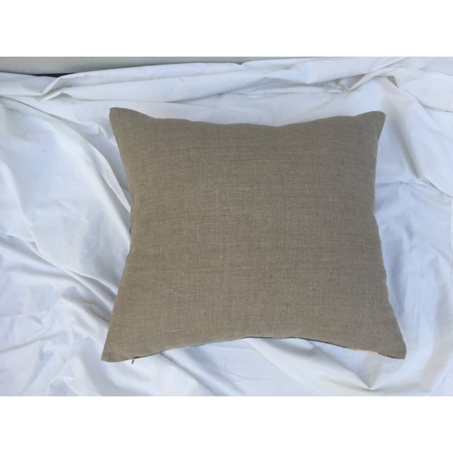 Grey Tie-Dye Mud Cloth Pillows - Pair - Image 5 of 6