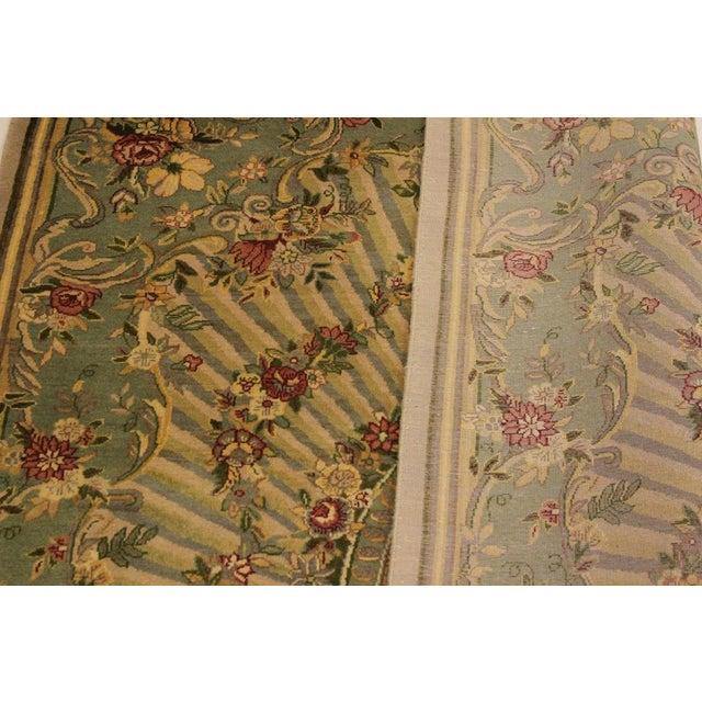 Textile Gulberg Pak-Persian Gayla Lt. Tan/Lt. Green Wool Rug - 4'1 X 6'3 For Sale - Image 7 of 8