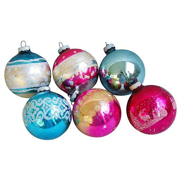 1960s Christmas Holiday Ornaments - Set of 12 - Image 2 of 5
