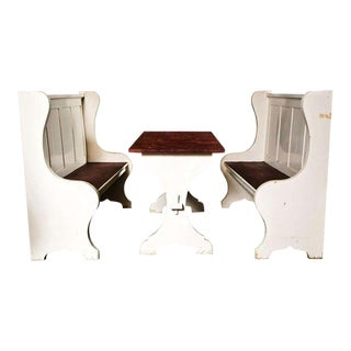 Antique Dining Booth For Sale