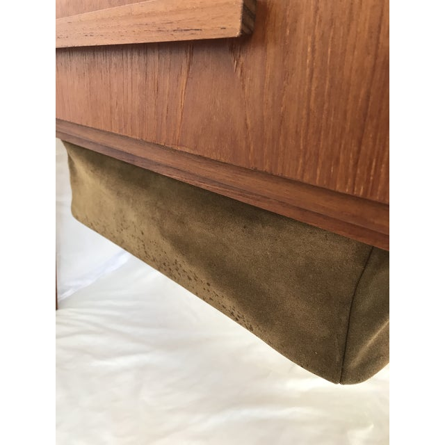 Vintage Danish Sewing Side Table For Sale - Image 11 of 13