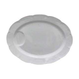 Antique French Porcelain Carving Platter For Sale