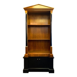 Baker FurnitureNeo-Classical Style Bookcase- 2 Available For Sale