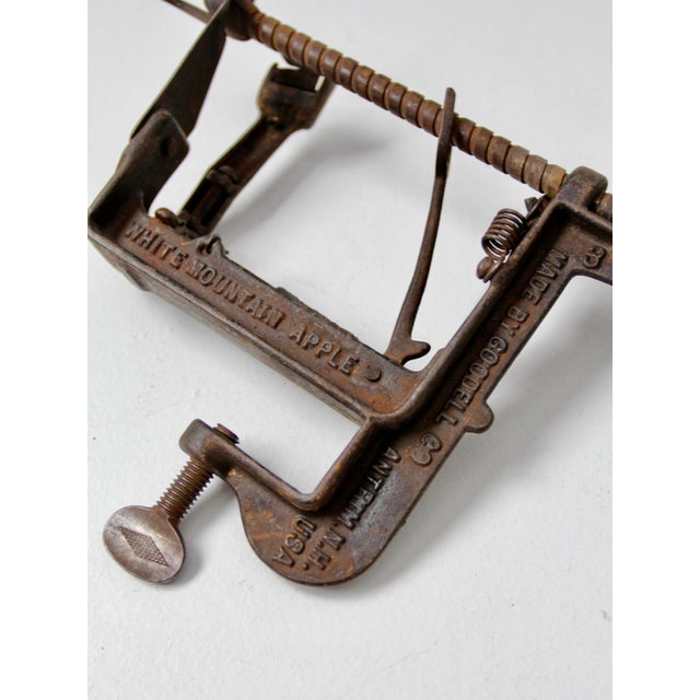 Country Antique Goodell White Mountain Apple Parer For Sale - Image 3 of 4