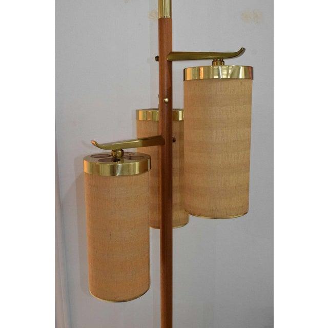 Stiffel MId-Century Pole Floor Lamp - Image 7 of 7